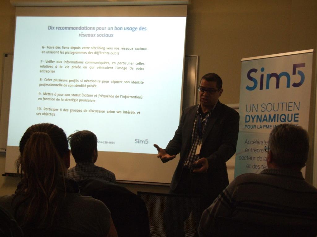 Francis Bissonnette conférencier SiM 5 février 2016