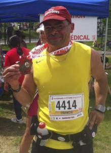 Francis Bissonnette, Marathon d'Ottawa