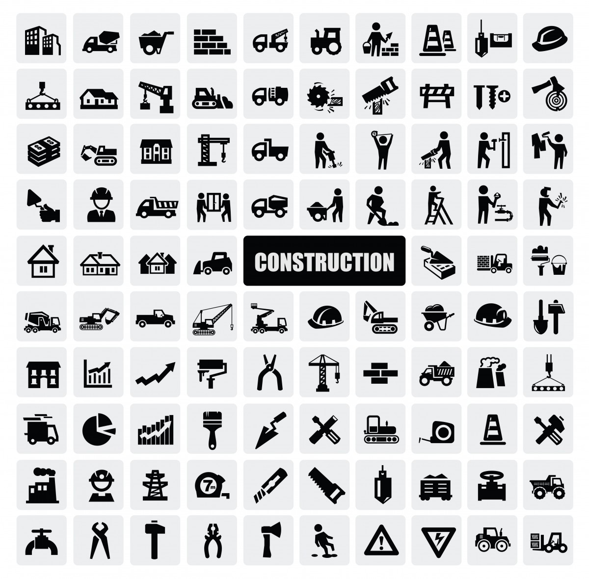 Icon de construction