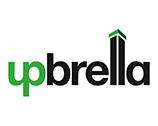 Upbrella construction logo