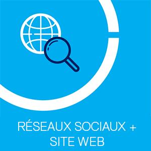 Réseaux Sociaux et Site web