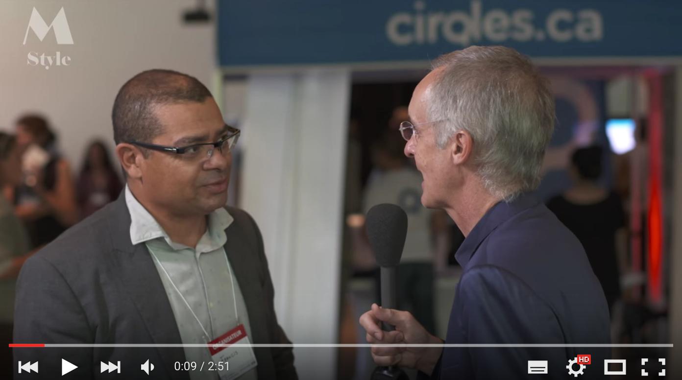 Entrevue de Claude Deschênes avec Francis Bissonnette, président et fondateur de SiM 5 SiM5 à M-style