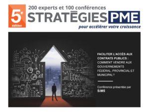 SiM5 stratégie pme conférence marché gouvernementaux novembre