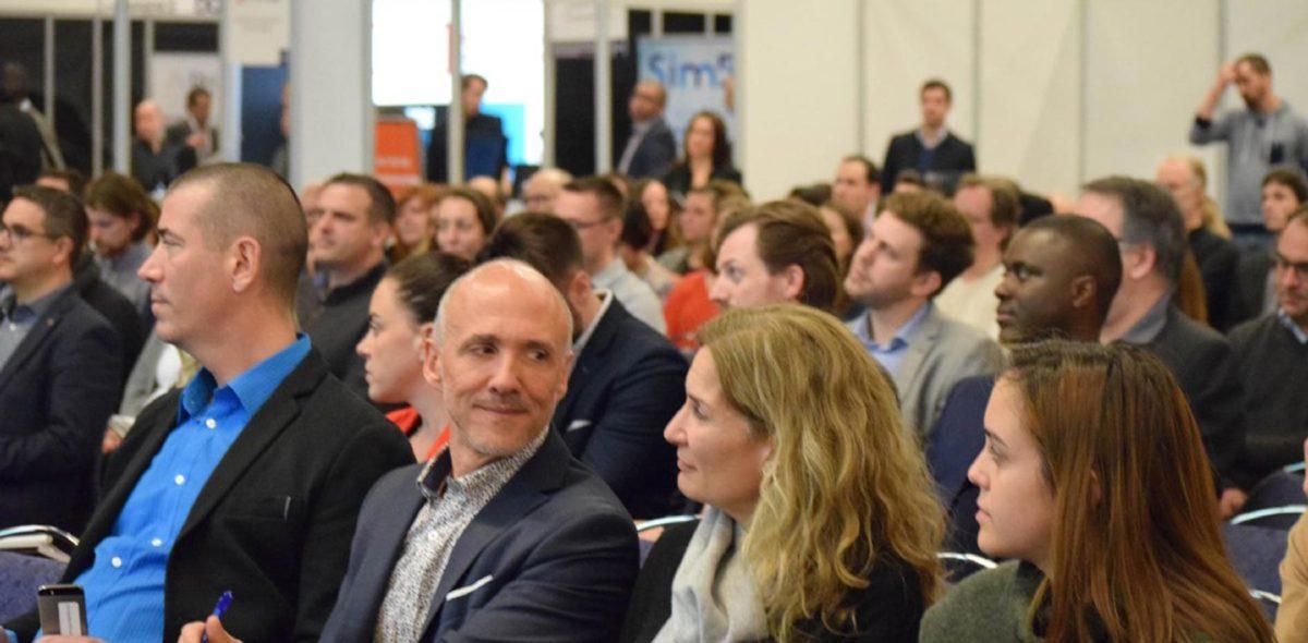 photo conférence sim5 à Stratégies PME Montréal novembre 2016