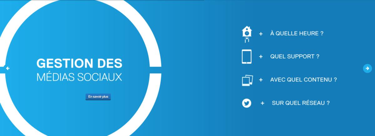 gestion médias sociaux Sim5 image quelle heure- quel support avec quel contenu sur quel reseau sim5 gestion médias sociaux