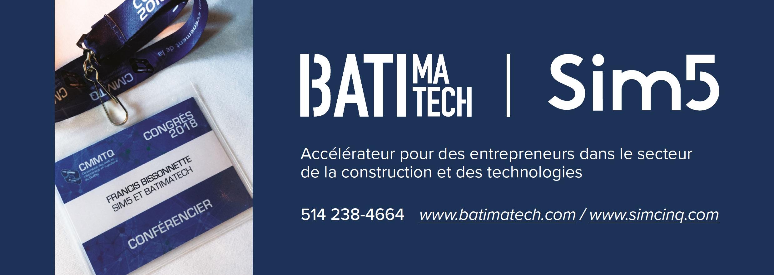 cmmtq - sim5 batimatch publicité -
