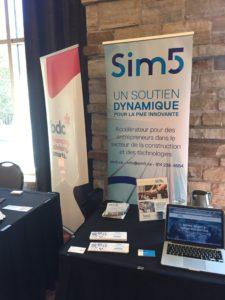 bdc Sim5 exposant au Congrès de la cmmtq 2018