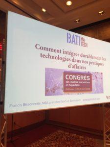 ppt Sim5 (Francis Bissonnette, MBA) conférencier au Congrès de la cmmtq 2018 comment intégrer durablement les technologies dans nos pratiques d'affaires- GIANT