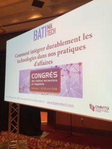 ppt Sim5 (Francis Bissonnette, MBA) conférencier au Congrès de la cmmtq 2018 comment intégrer durablement les technologies dans nos pratiques d'affaires-- GIANT