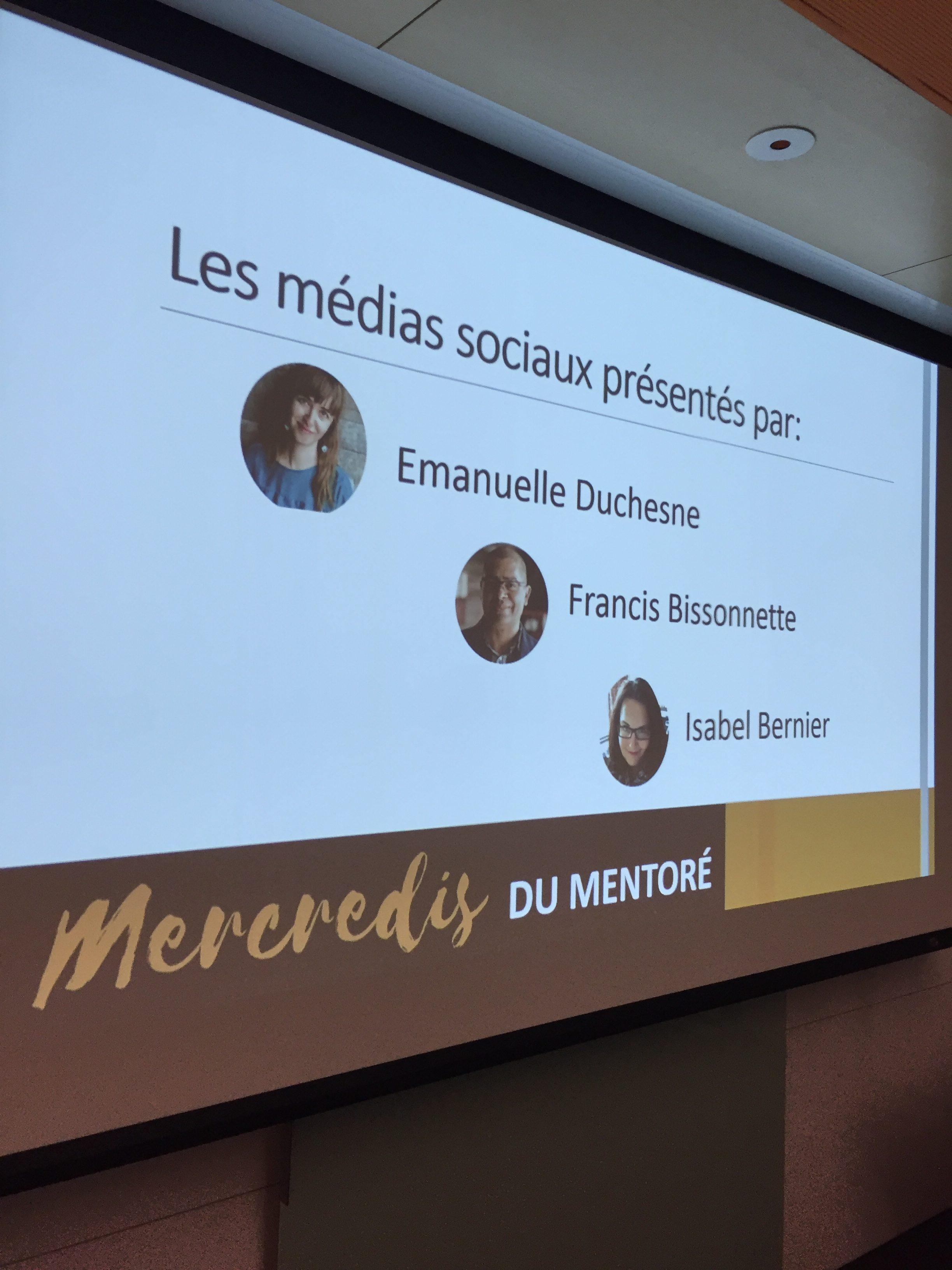 réseaux sociaux Sim5 Francis Bissonnette